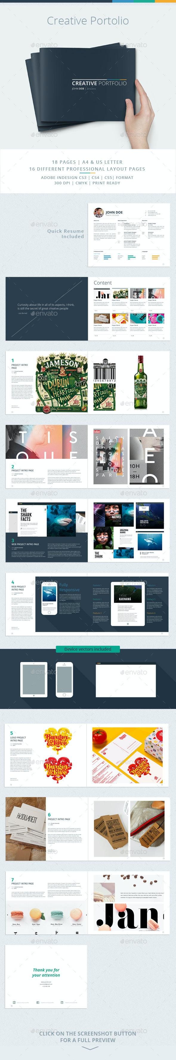 Creative Portfolio - Portfolio Brochures