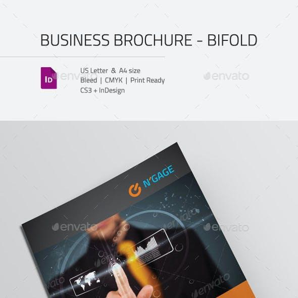 Business Corporate Brochure Bifold