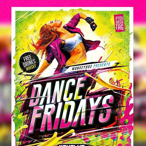 Flyer Dance Fridays Konnekt
