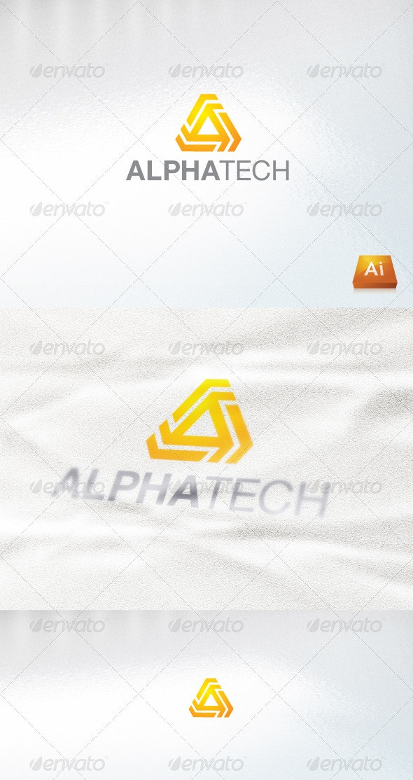 Alpha Tech - Abstract Logo Templates