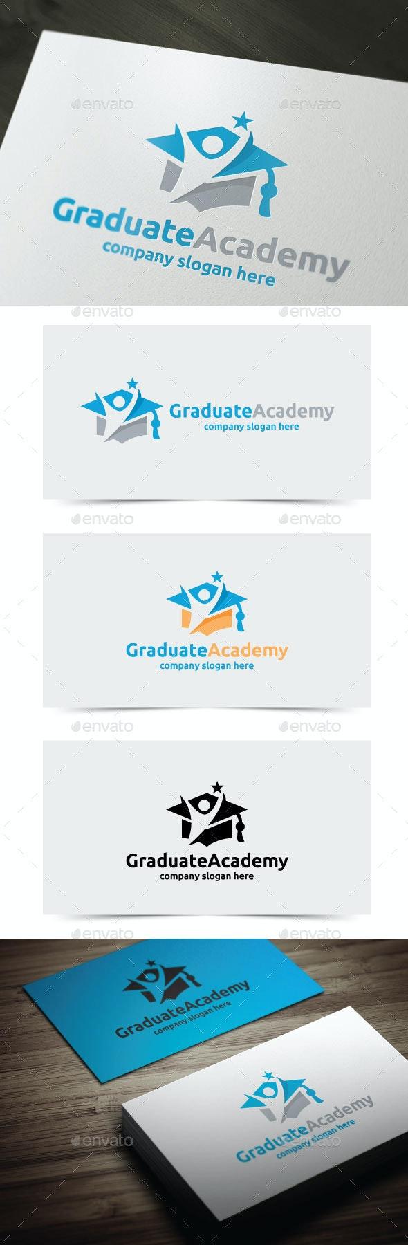 Graduate Academy - College Logo Templates