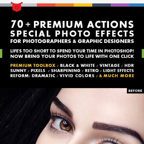 70+ Premium Actions