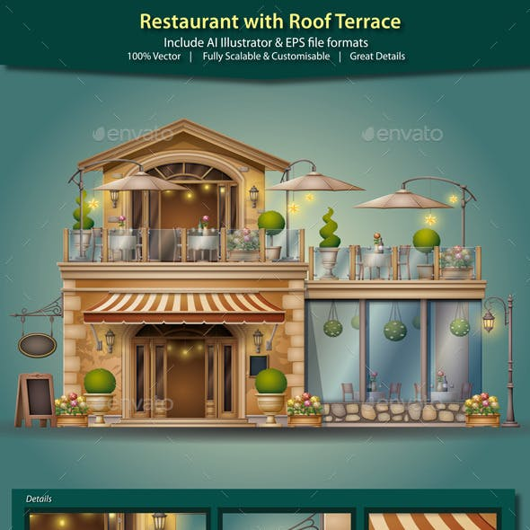Restaurant with Roof Terrace