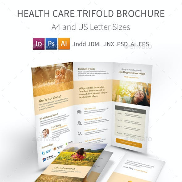 Health Care Trifold Brochure