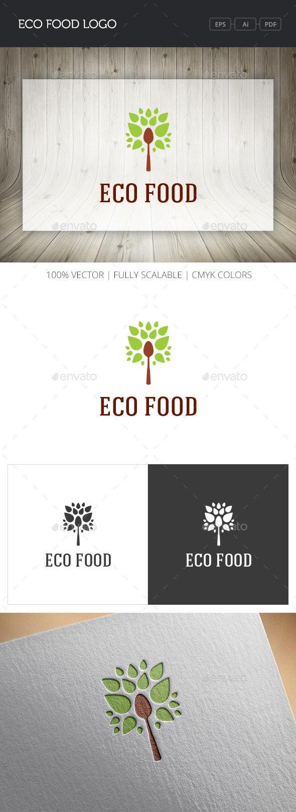 Eco Food Logo - Nature Logo Templates
