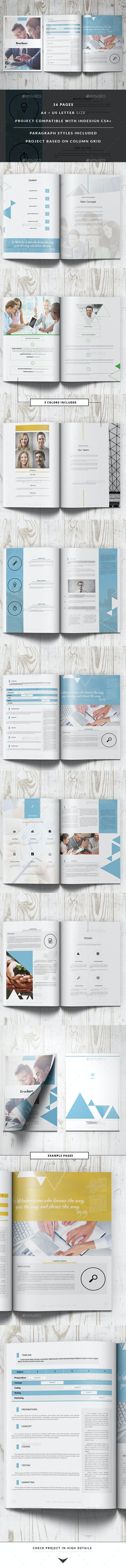 Project Proposal Business Template - Proposals & Invoices Stationery