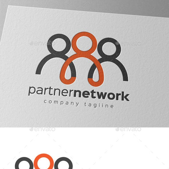 Partner Network Logo Design