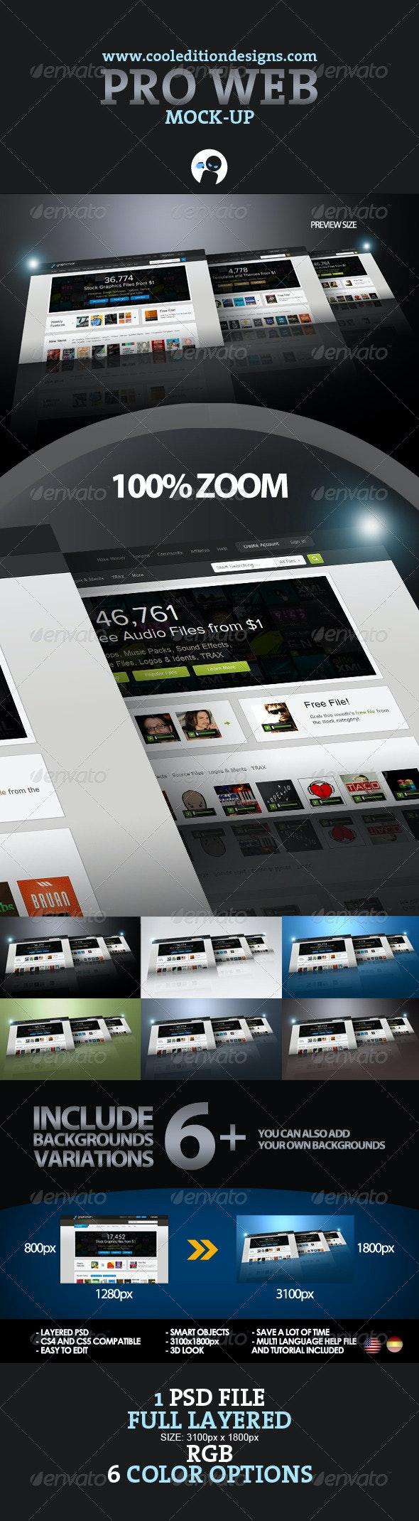 3D PRO WEB DISPLAY - Website Displays