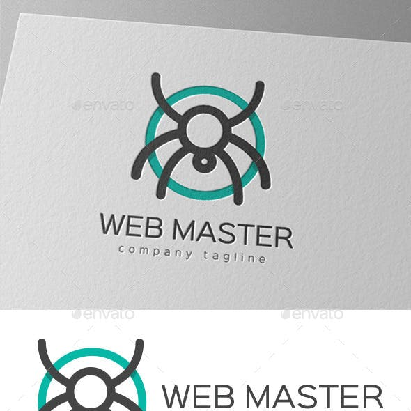 Web Master Logo Design