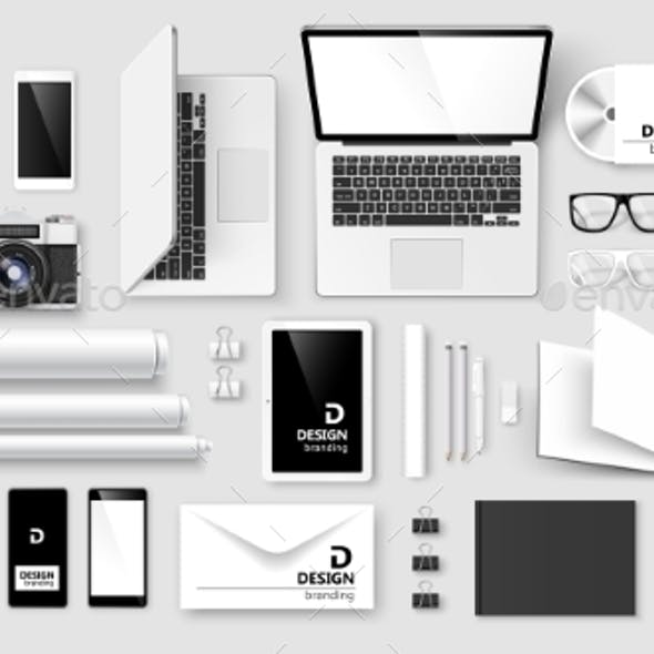 Mock Up Set of Corporate Identity and Branding