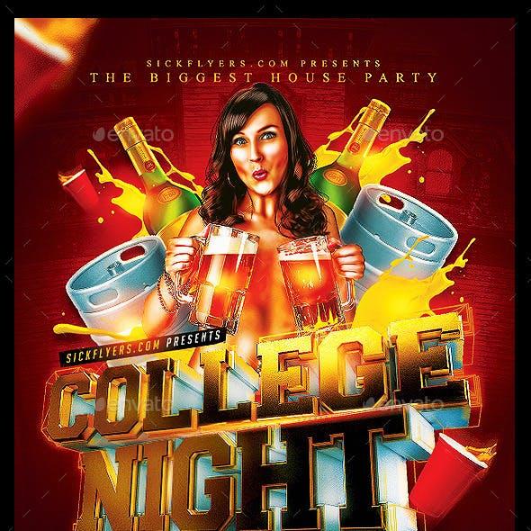 College Night Flyer