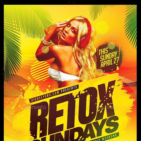 Summer Retox Flyer