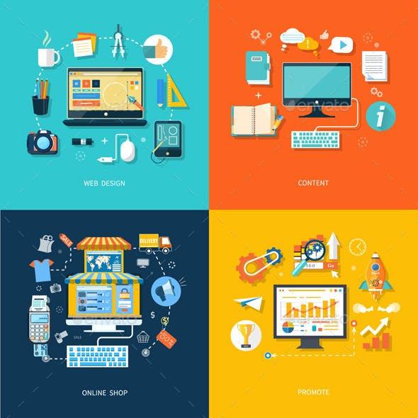 Web Design Promote Content