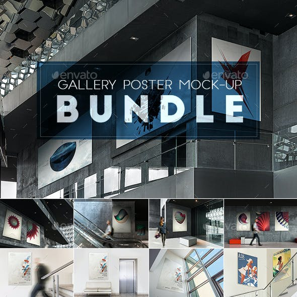 Gallery Poster Mock-Up Bundle
