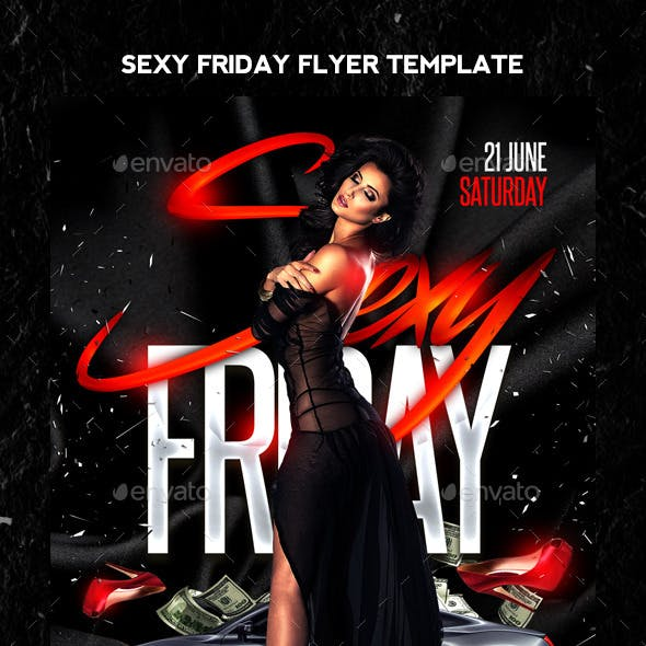 Sexy Friday Flyer