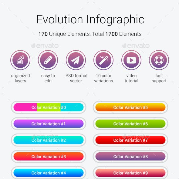 Evolution Infographic
