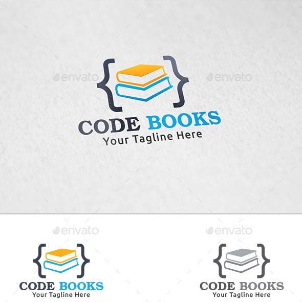 Code Books - Logo Template