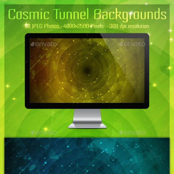Cosmic Tunnel Backgrounds