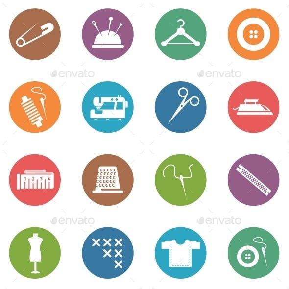 Sewing Circle Icons