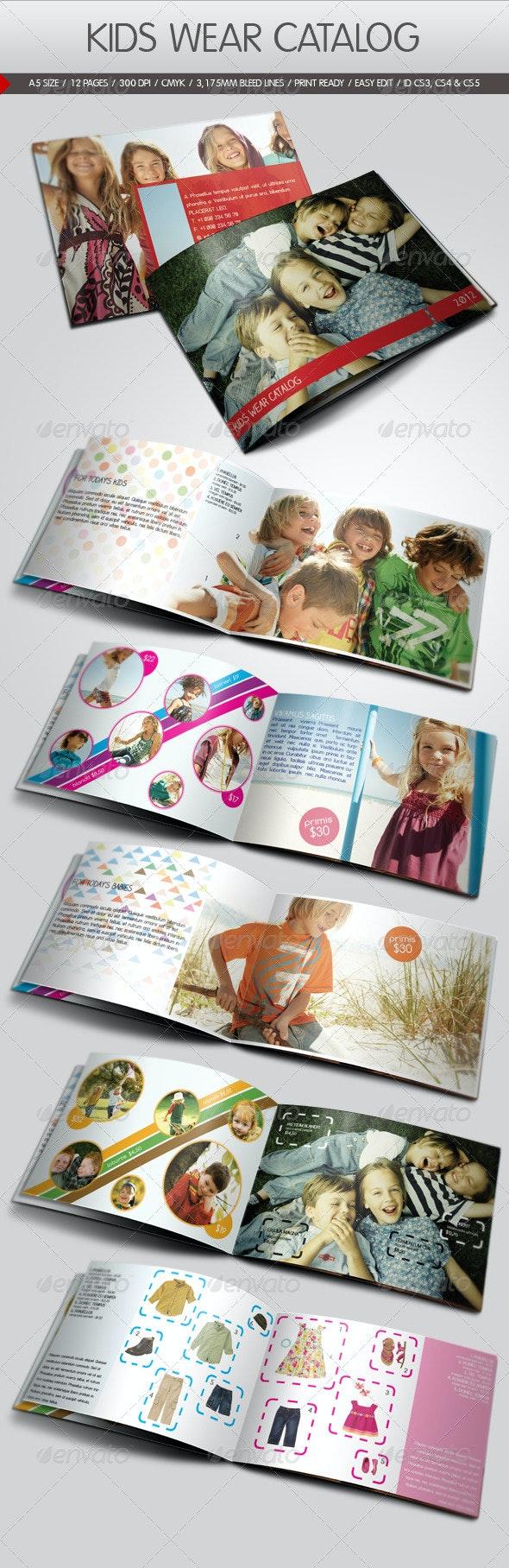 Kids Wear Catalog - Catalogs Brochures