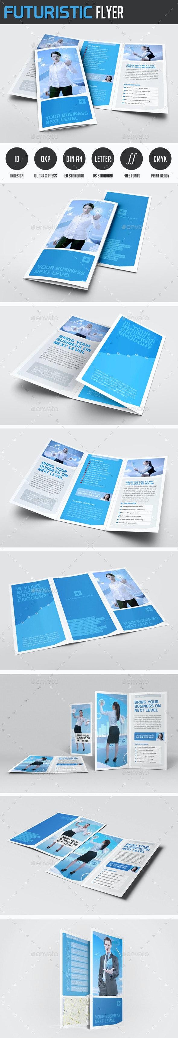 Futuristic Brochures - Corporate Flyers