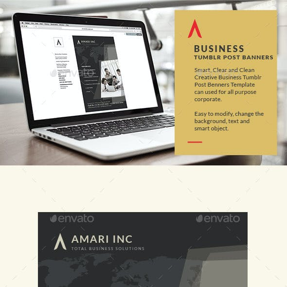 Business Tumblr Post Banners