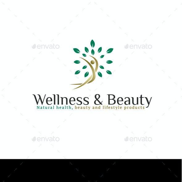Naturals Wellness & Beauty Logo