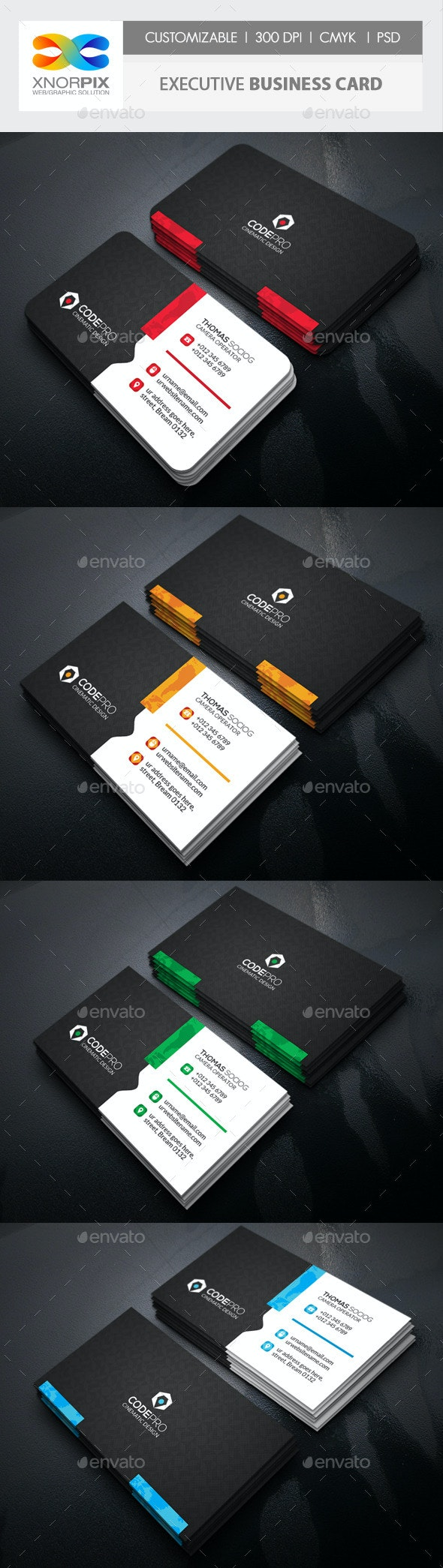 Motion Business Card - Corporate Business Cards