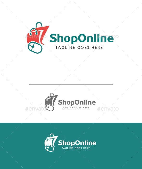 Online Shop Logo - Objects Logo Templates