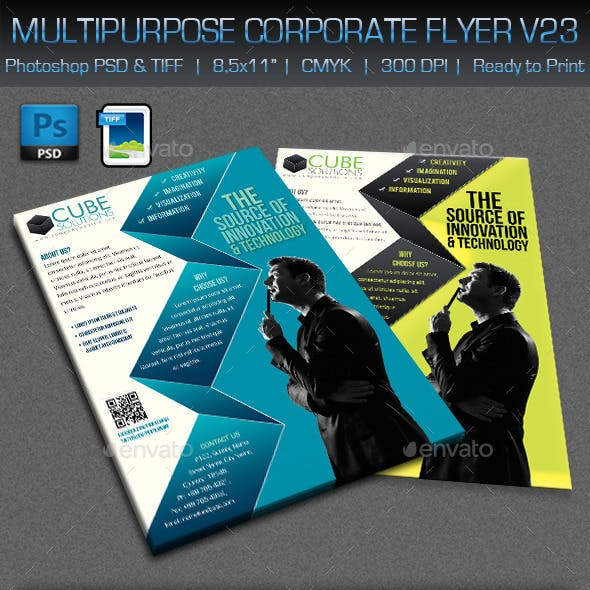 Multipurpose Corporate Flyer V23