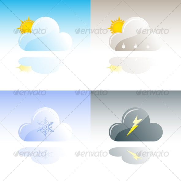 Weather Icons Collection #2 - Conceptual Vectors