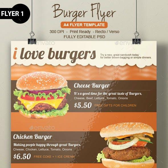 Burger Flyer Bundle