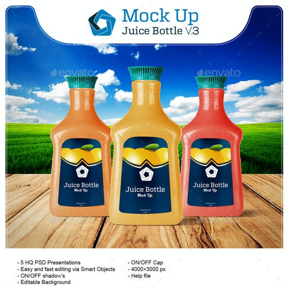 Juice Bottle V.3