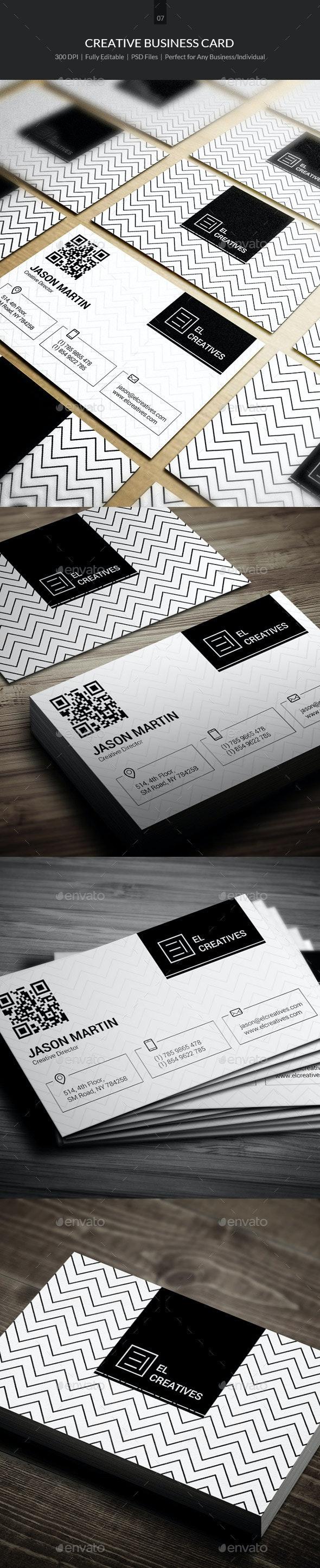 Creative Business Card - 07 - Creative Business Cards