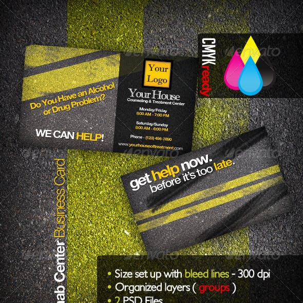 Rehabilitation Business Card