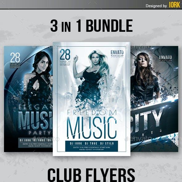 Club Flyers Bundle Vol.1