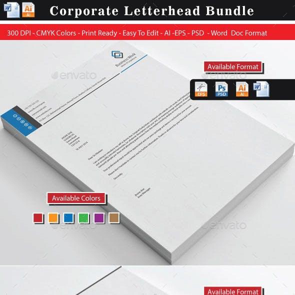 Corporate Business Letterhead Bundle