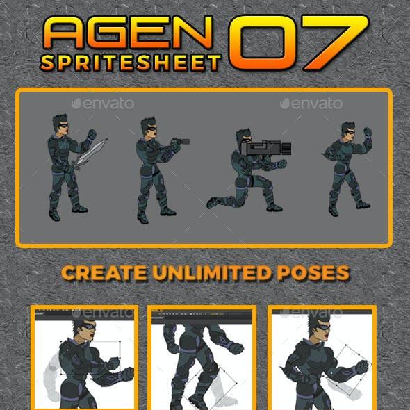 Agen 07 Game Spritesheet
