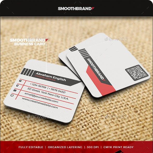 Square Business Card V.2