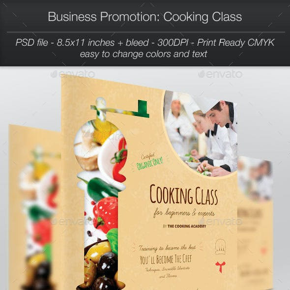 Business Promotion: Cooking Class