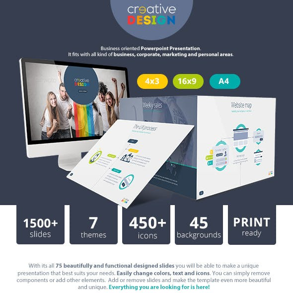 Creative Design Powerpoint Presentation