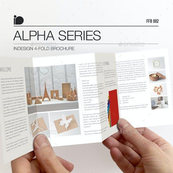 4-Fold Brochure • Alpha Series