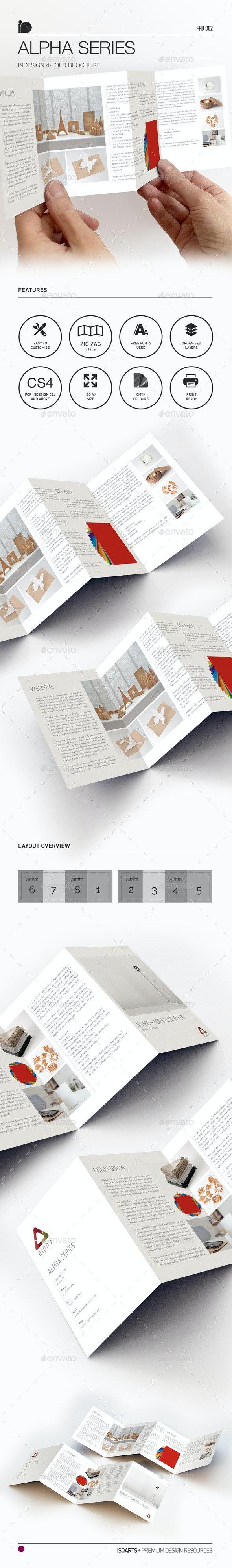 4-Fold Brochure • Alpha Series - Corporate Flyers
