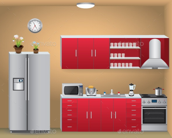 Kitchen - Buildings Objects