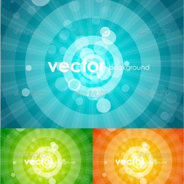 Vector shiny backgrounds
