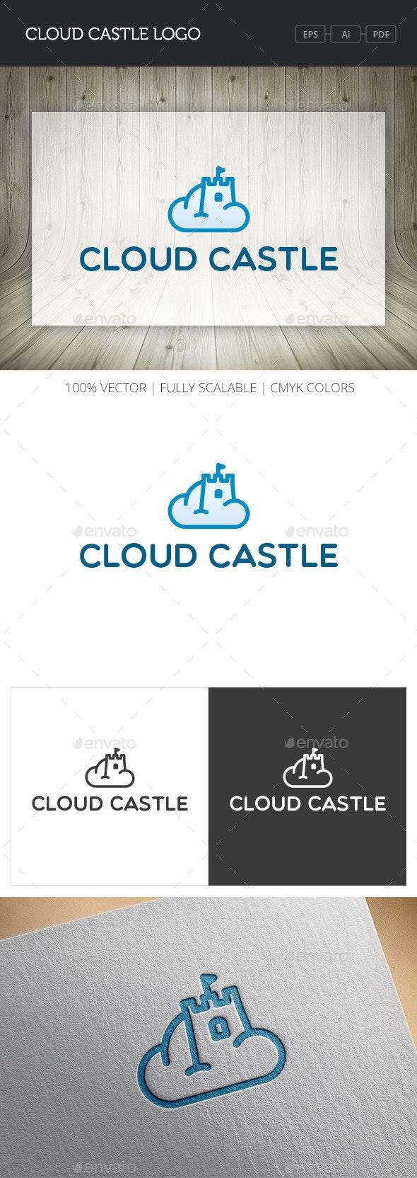 Cloud Castle Logo - Buildings Logo Templates