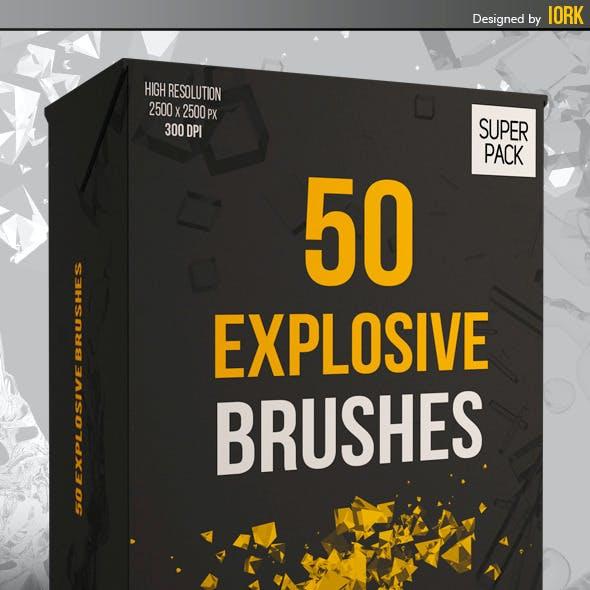 50 Explosion Brushes