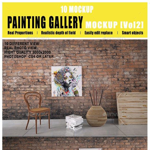 Painting Gallery Mockup [Vol2]