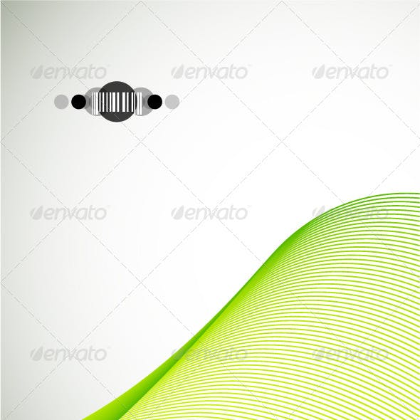 Green wave. Corporate design