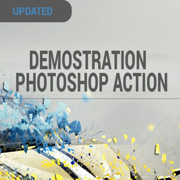 Demostration Photoshop Action